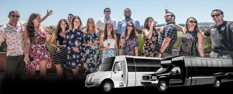 28 Passenger Party Bus for California