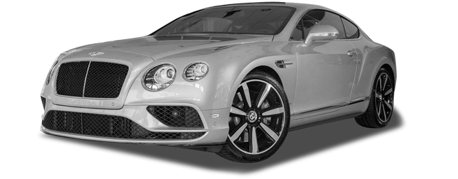 California Bentley Continental GT Exterior