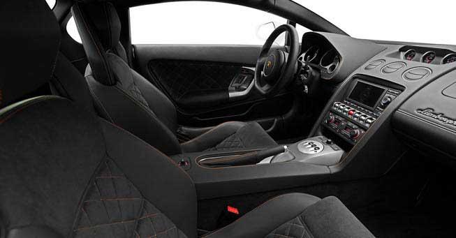 California Lamborghini Gallardo Interior