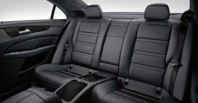 California Mercedes CLS 63 AMG Interior