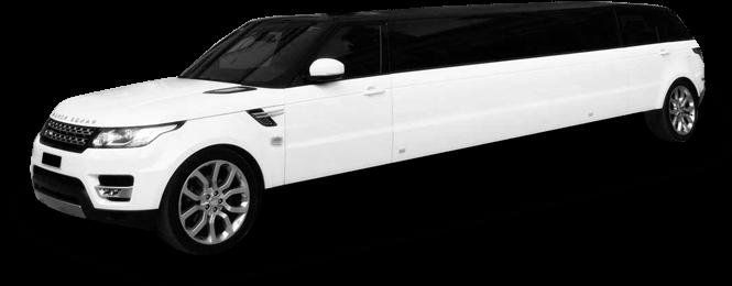 California Range Rover Stretch Limo Exterior