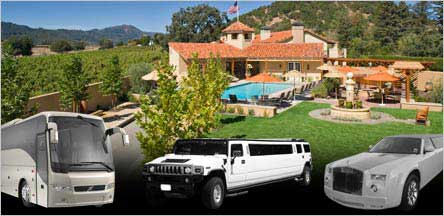 Bay Area To Napa Wine Tours Limo Service
