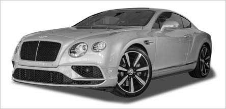 Bentley Continental GT Exterior California