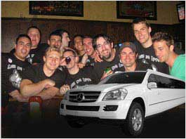 California Bachelor Parties Limousine Sservice