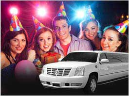 California Birthday Parties Limousine Service