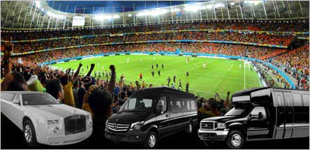 California Sports Events Limo Rental Service