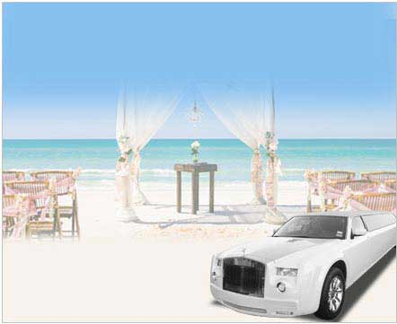 California Wedding Limo