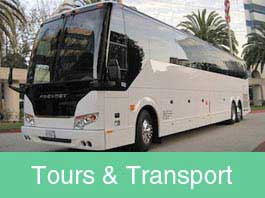 Tours & Transportation California