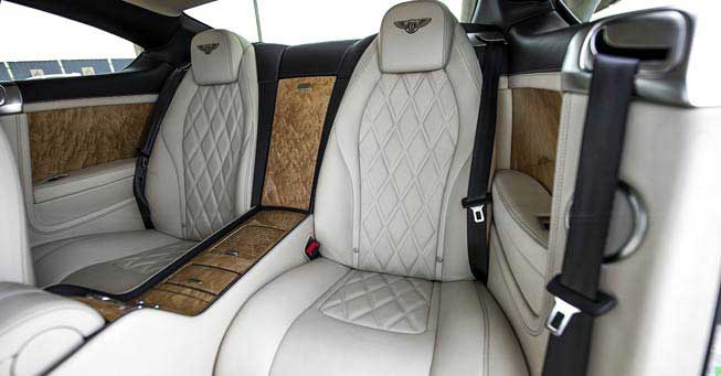 California Bentley Continental GT Interior