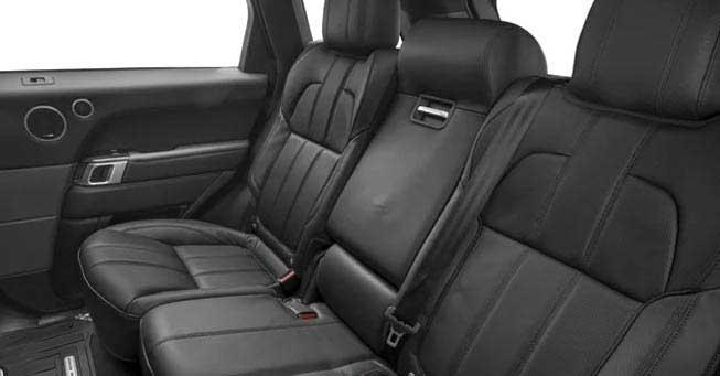 California Range Rover Sport SUV Interior