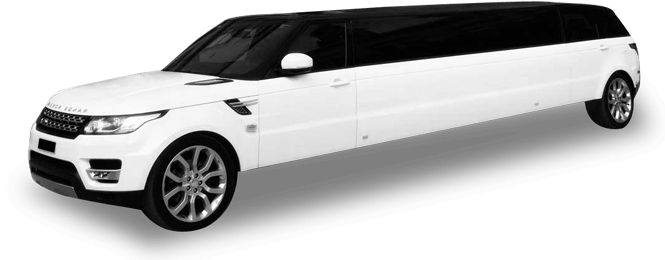 California Range Rover Stretch Limo Exterior