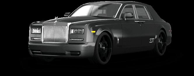California Rolls Royce Phantom Exterior