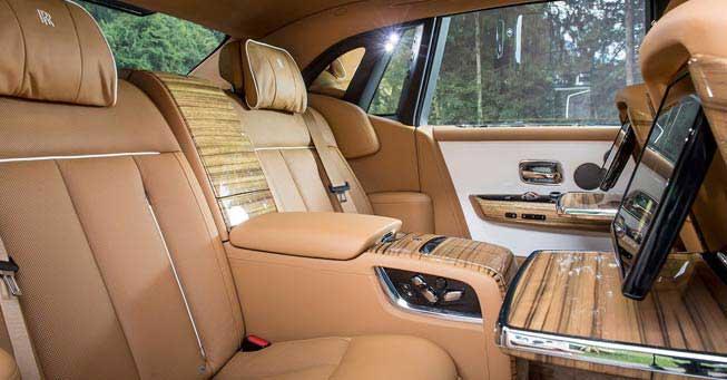 California Rolls Royce Phantom Interior