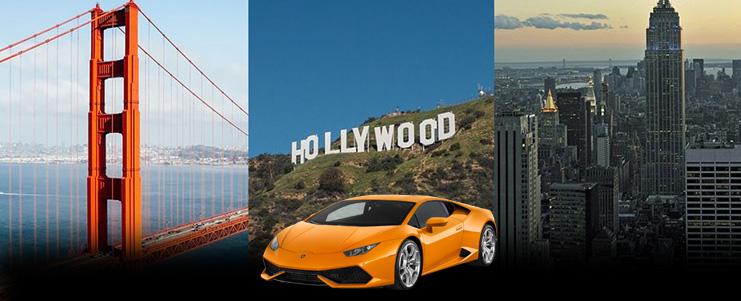 Lamborghini Huracan Rental in Los Angeles and San Francisco